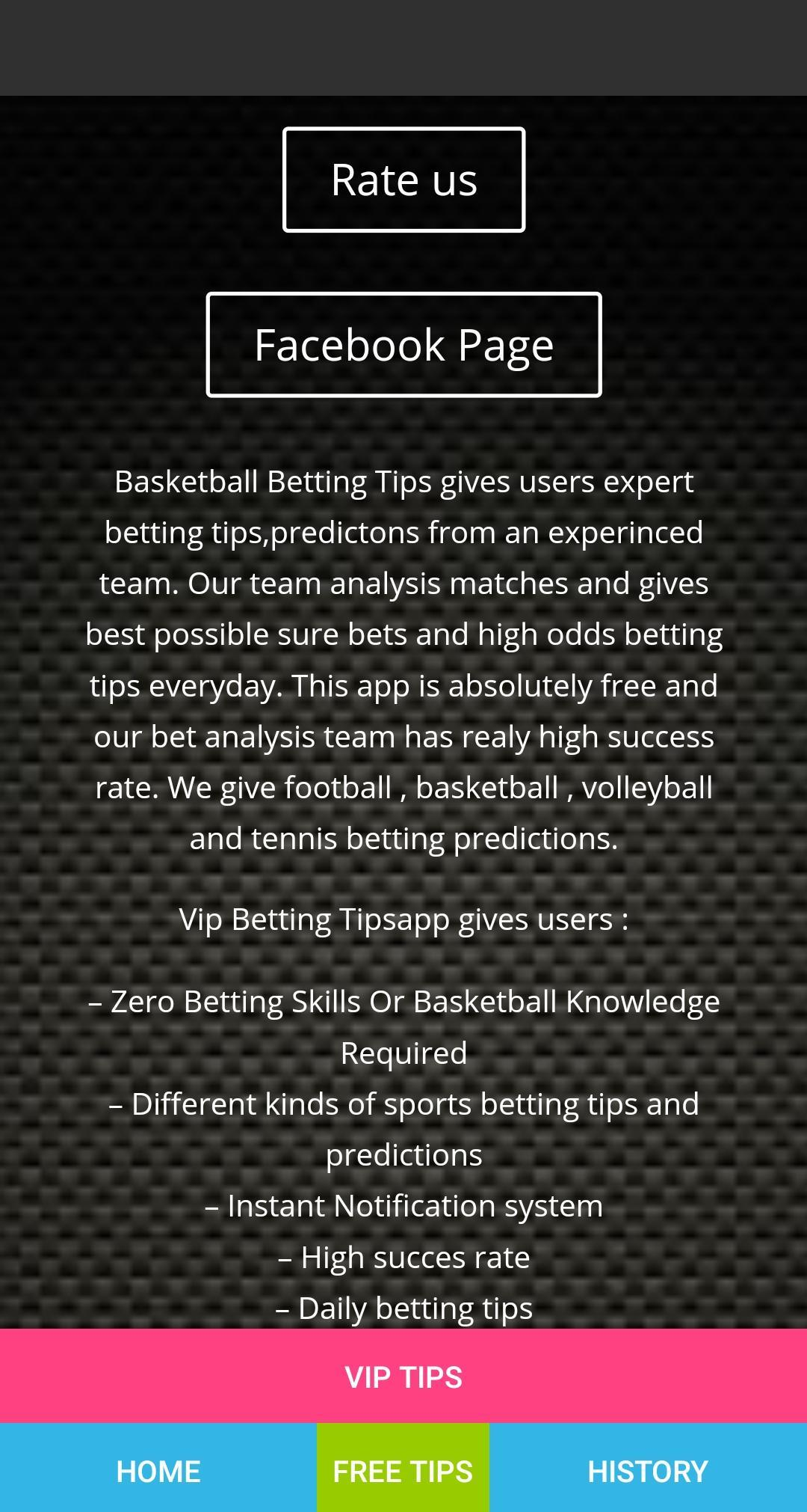 Basketball Betting Tips for Android - APK Download