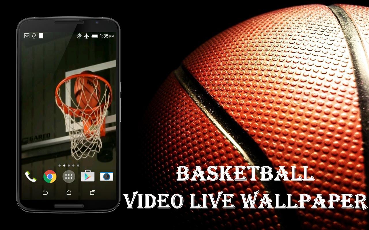 Basketball Live Wallpaper Poster