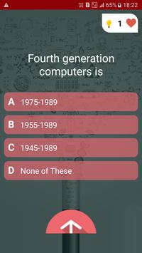 Basic Computer Quiz screenshot 1