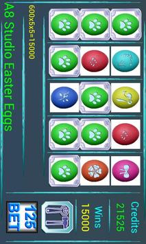 A8 Easter Eggs Slot Machine poster