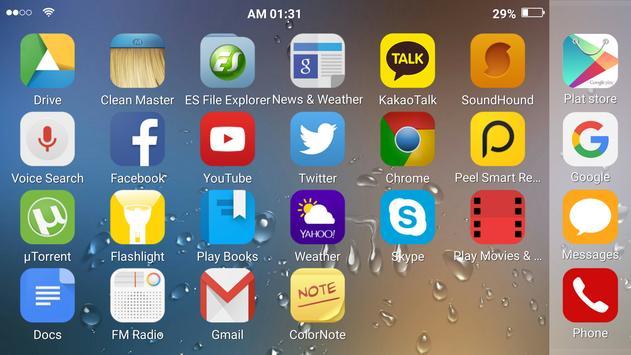 Basic theme for Total launcher apk screenshot