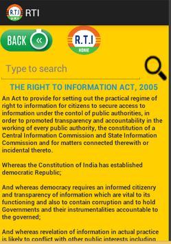 RTI Act India screenshot 1