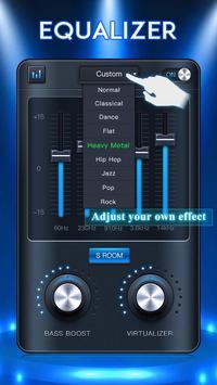 Equalizer: Bass Booster & Volume Booster screenshot 3