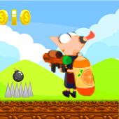 Phineas adventure run icon
