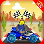 Cat Boy Pj Race Mask icon