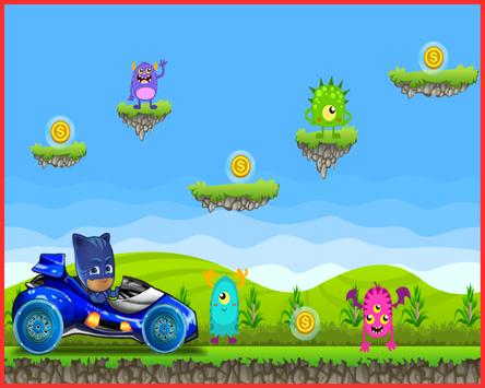 Cat Boy Pj Racing Mask apk screenshot