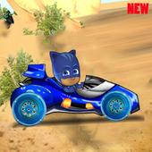 Cat Boy Pj Racer Mask icon