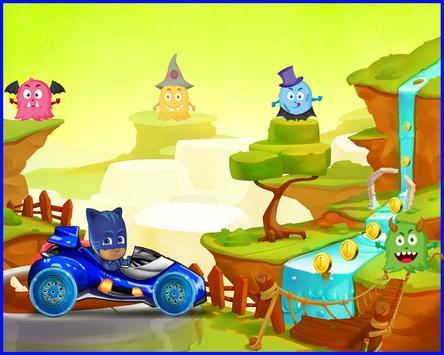 Cat Boy Pj Racer Mask screenshot 1