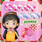 Candy World Runner icon