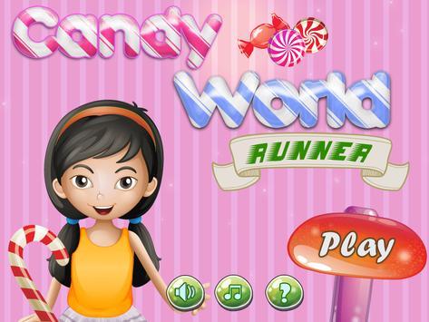 Candy World Runner poster