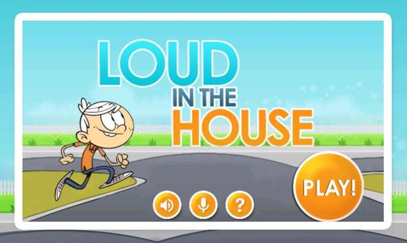 Loud In The House poster