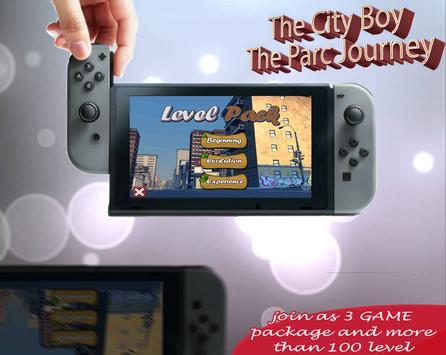 City Boy : The Park Journey apk screenshot