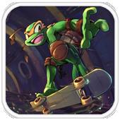 turtle journey ninja adventure icon