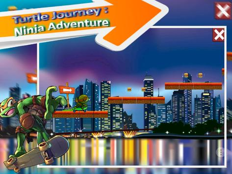 turtle journey ninja adventure apk screenshot