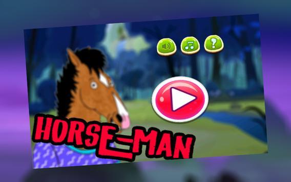 The Crazy Horse-man run adventure For Bojack poster