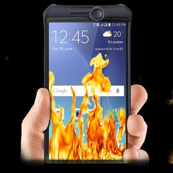 Fire On screen Prank apk screenshot