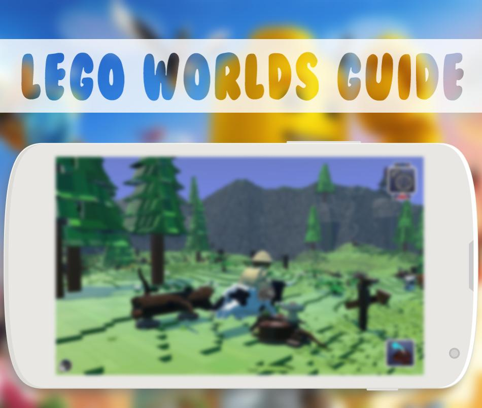Guide LEGO Worlds poster