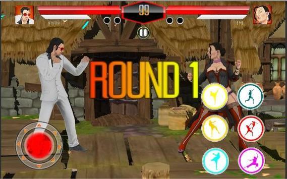Ultimate Fighting Superheroes Championship Fu Club apk screenshot
