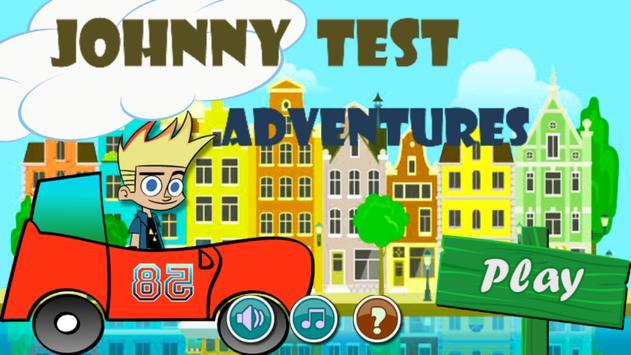 Johnny Test Adventures poster