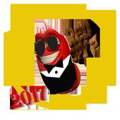 red spy larva icon
