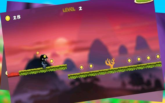 Lucy run adventure in mountains screenshot 2