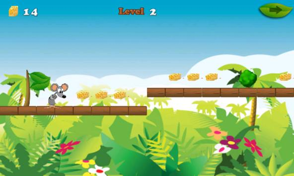 Mouse And Cheese Adventure apk screenshot