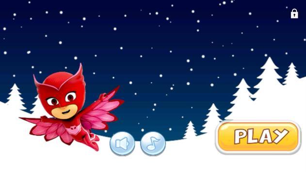 Pj-snow flying Masks apk screenshot