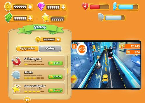 Despicable Minions Rush screenshot 2