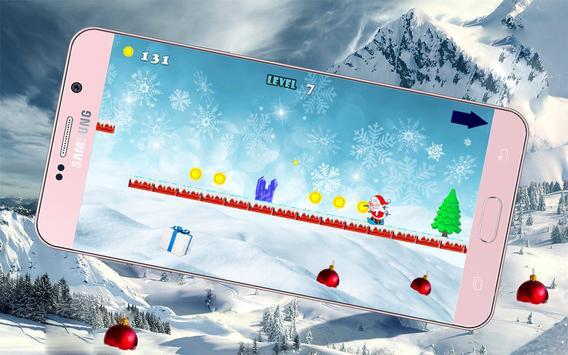 Noël skiing adventure apk screenshot