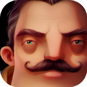 Menginstal Game Adventure android Hello Neighbor Gameplay 3d