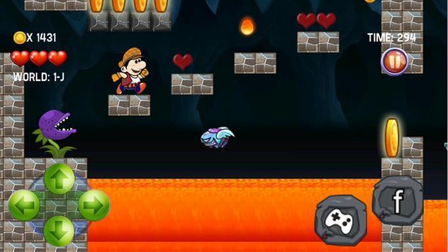 Super Maryon jumping free game apk screenshot