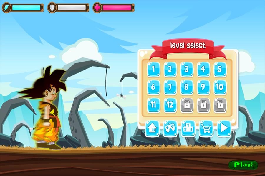 Super Goku Running Adventure For Android Apk Download - full download roblox dbz gear