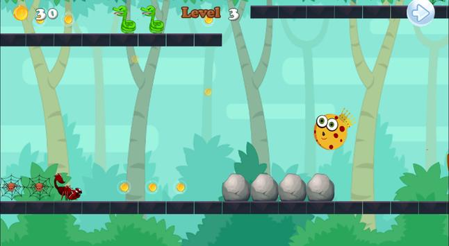 Sponge Ball-King of the Jungle apk screenshot
