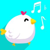scream chicken hero go icon