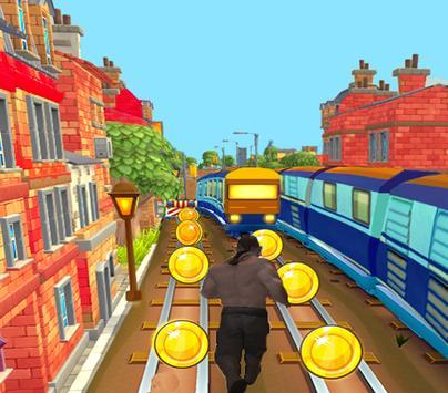 Subway old man running - pro apk screenshot