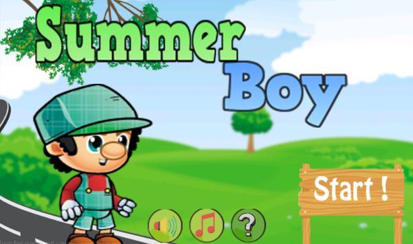 Summer Boy poster