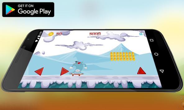Super M-Oggy Surfer Adventures apk screenshot