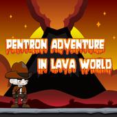 Pentron Adventure In Lava World icon