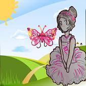 Ballet princess game icon