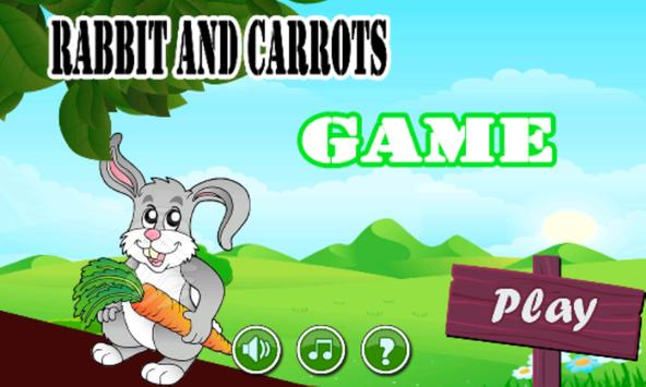 Rabbit And Carrots Run Game poster