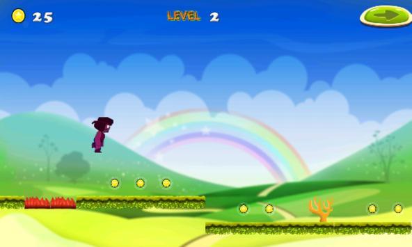 ruby run adventure in crazy universe apk screenshot