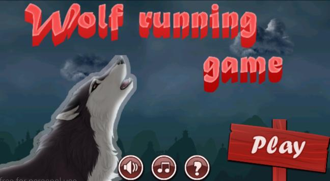Wolf Running Game poster