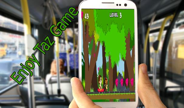 Super Taz Jungle Adventure apk screenshot
