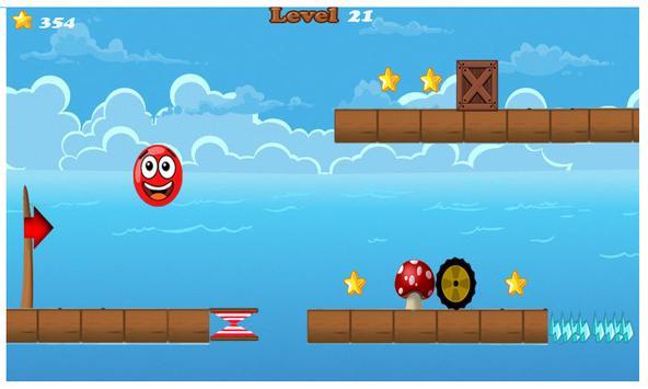 Run red ball apk screenshot