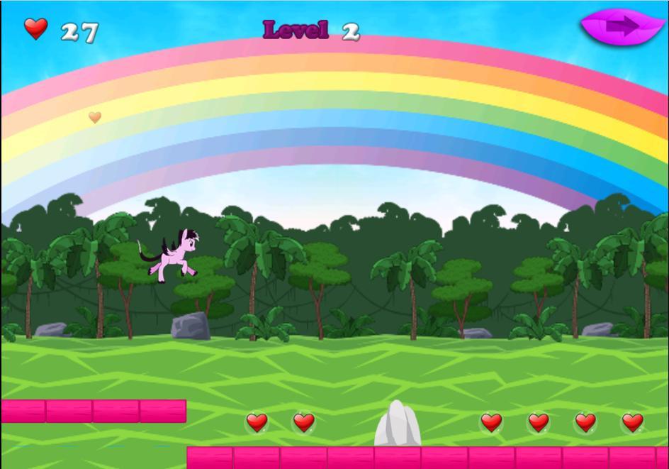 Unicorn Jungle Dash poster