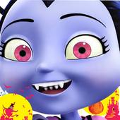moon Vampirina halloween icon