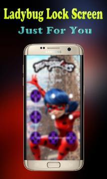🐞Pattern Lock Screen Ladybug apk screenshot
