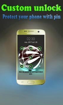Pattern lock pokeball apk screenshot