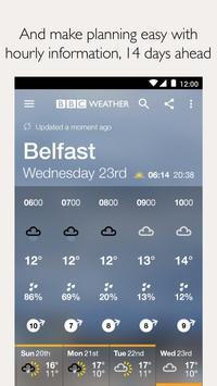 BBC Weather screenshot 4
