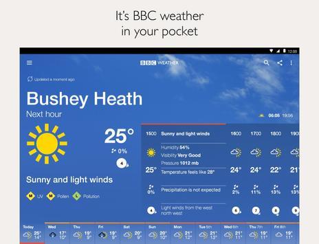 BBC Weather screenshot 5